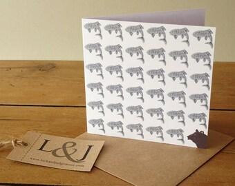 Animal thank you cards, blank note cards, animal cards, blank greeting cards, cute note cards, blank animal cards, animal stationery set