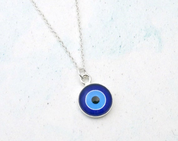 Dainty Evil Eye Necklace