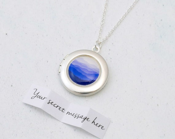 Blue Mountains Locket