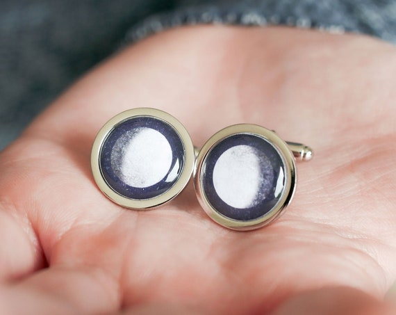 Moon Phase Cufflinks
