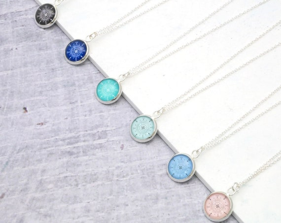 Personalised Compass Necklace