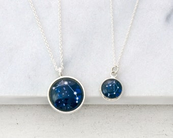 Constellation Necklace, Horoscope Necklace, Zodiac Necklace, Zodiac Jewelry, Star Necklace, Aries Necklace, Best Friend Gift