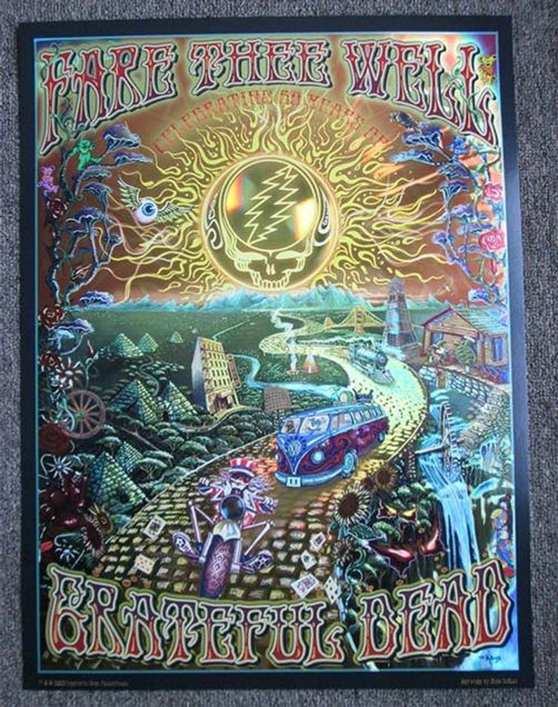 The Grateful Dead Fare Thee Well GD50 2015 DuBois Concert
