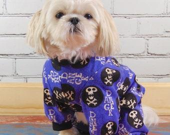 Danger Dog Flannel Dog Pajamas