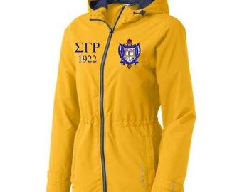 Sigma Gamma Rho Rain coat/jacket/slicker