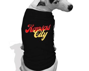 Kansas City  Dog hoodie teeshirt