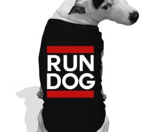 RUN DOG Dog teeshirt