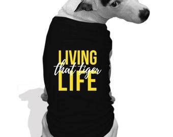 Mizzou Tiger life Dog hoodie teeshirt