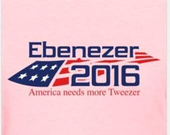 Phish Tweezer Ebenezer 2016 Blue Logo   Women's