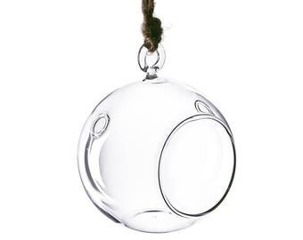 Glass Hanging 3 inches Bubble Plant Terrarium Holder Orbs, Pack of 72 pcs - GCH101/03