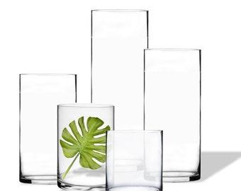Round gl vase | Etsy on