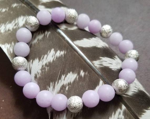Made of Stardust: Reiki Attuned Jade Healing Bracelet