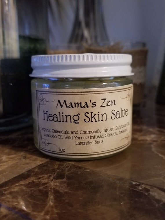 Reiki Infused Herbal Healing Skin Salve