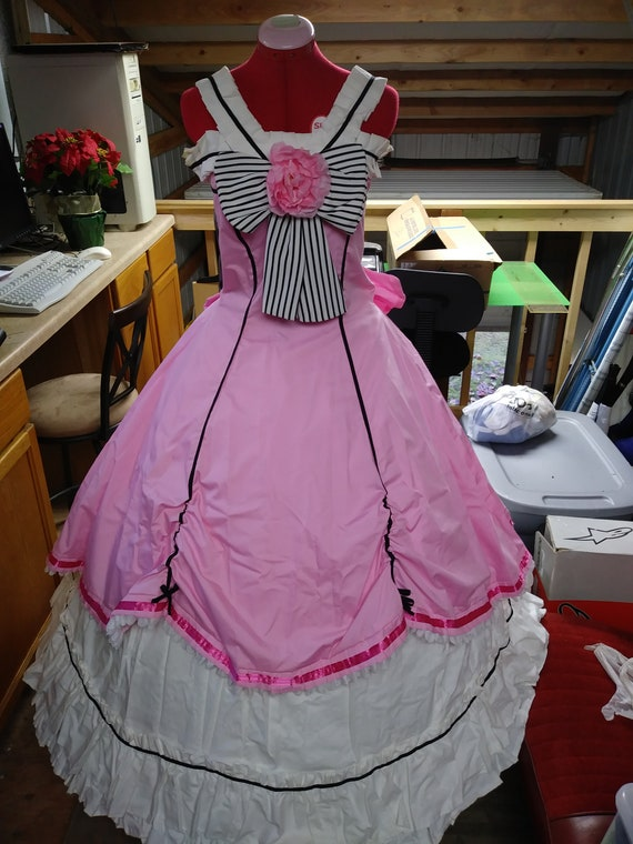 Ciel Phantomhive pink ball gown