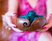 Handmade Wooden Yarn Bowl (Now 50 off )