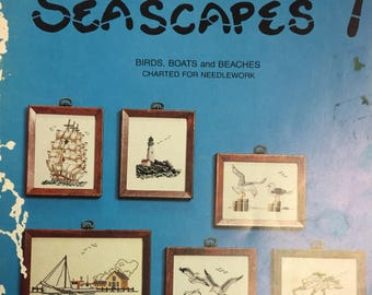 Seascapes 1 Birds, Boats, and Beaches Charted for Needlework Tidewater Originals
