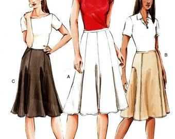 f3c9bdec6 Vogue 7910 Flirty Flared Skirt / 2004 SZ18-22 UNCUT