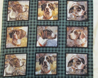 """Hunting dog pillow case, 20.5"""" x 28.5"""", 100% cotton-washable,standard size,created in Duluth, Minnesota"""