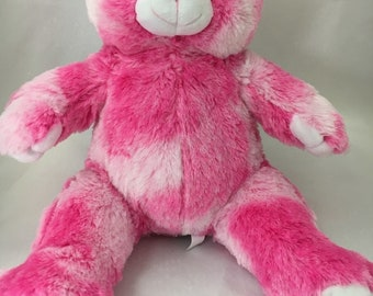 93941069d09 Personalized Music Singing Stuffed Animal Pink Teddy Bear