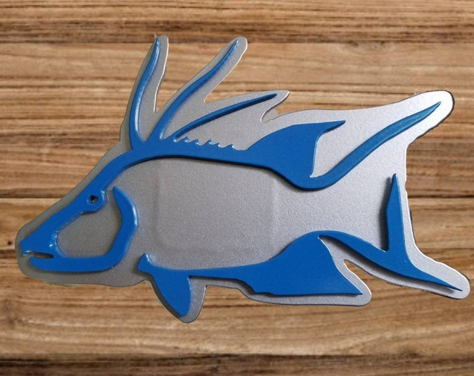 Hogfish Trailer Hitch Cover