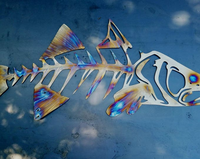 "Snook Metal Wall Art 60""x23.3"""