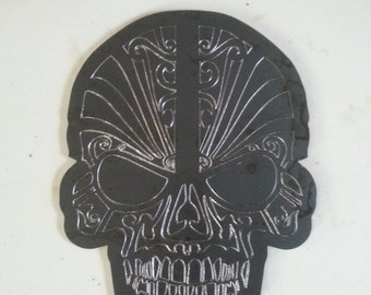 Sugar Skull from steel