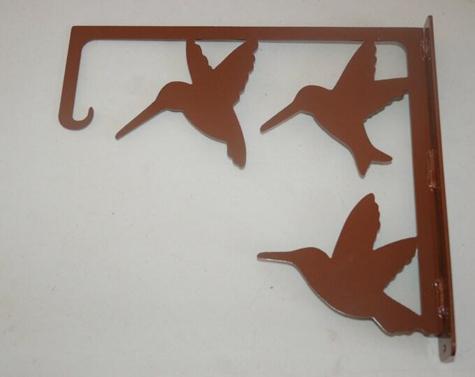 Hummingbird Feeder Hanger - Plant Hanger - Hanging Basket Hanger - Towel Hanger - Porch/Patio Decor - Decorative Hook - Bird Feeder Hanger