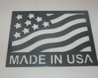 Made in USA Sign, Sign for Business, Store Sign for Small Business, US Made