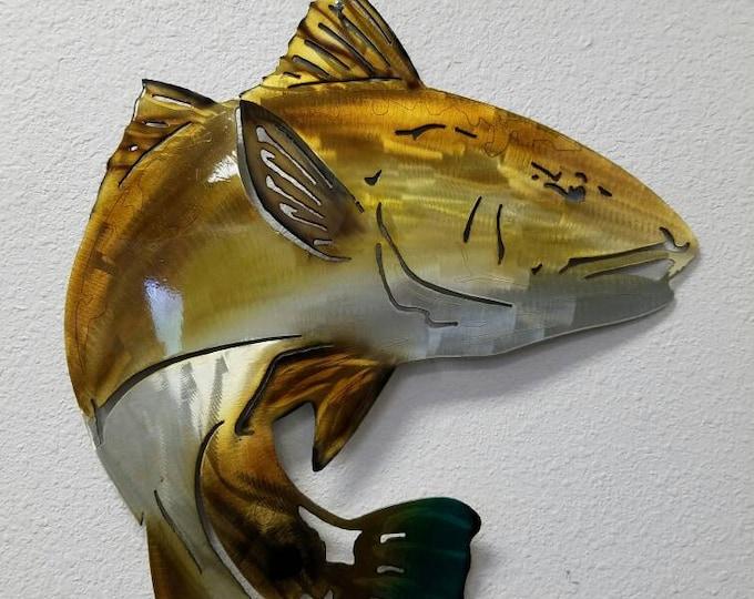 Redfish wall art