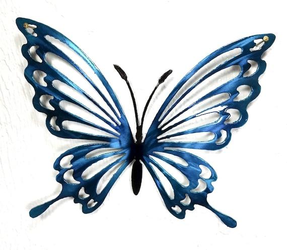 2 Minimalistic Butterflies Matani Metal Butterfly Wall Decor Butterfly Metal Wall Art