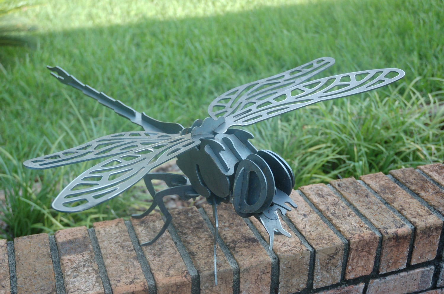 Metal Dragonfly, 3D Dragonfly, Dragonfly Garden Art
