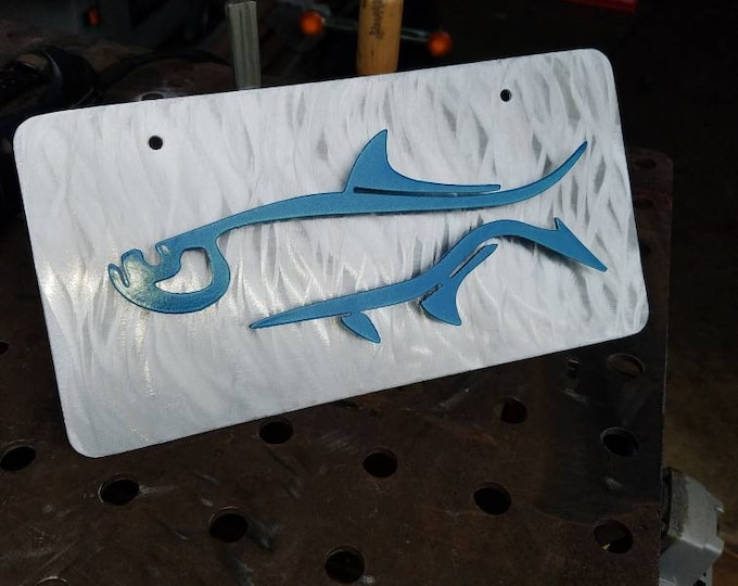Tarpon License Plate for Fisherman or Gift for Dad, Husband, Brother