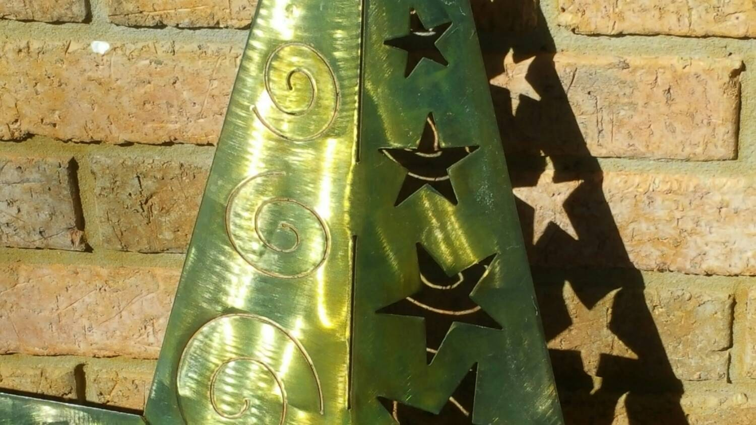 Large 3D Metal star, Metal Wall Decor, Handmade Wall Decor, Handmade ...