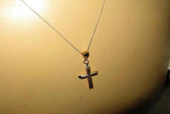 Beautiful 14k Yellow Gold Crucifix on an 18 10k YG Chain