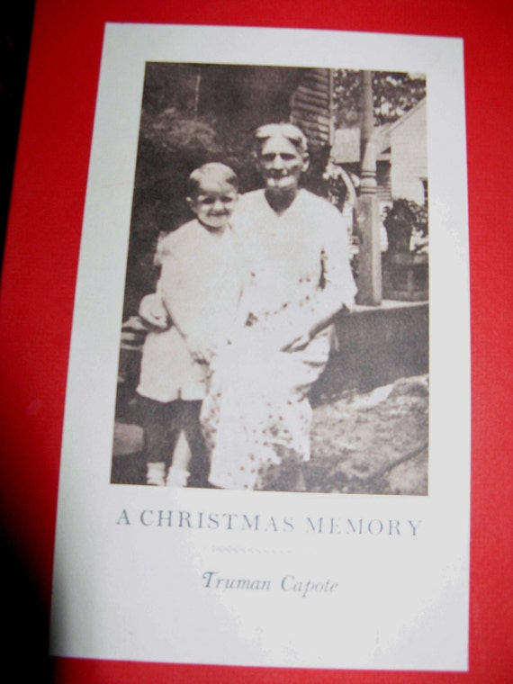 Truman Capote A Christmas Memory.Truman Capote Novel A Christmas Memory Truman Capote Published By Random House New York 1956 First Edition In Slipcase Excellent