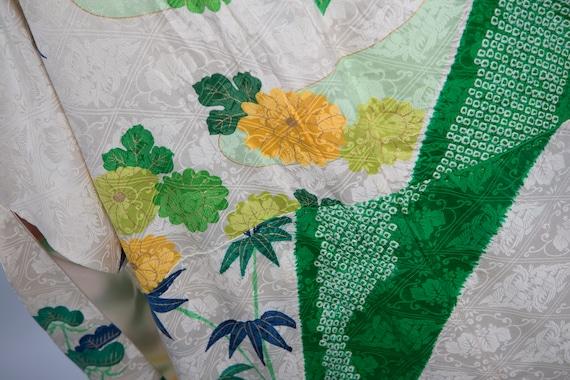 KIMONO VINTAGE /  tomesode kimono / silk kimono /… - image 5