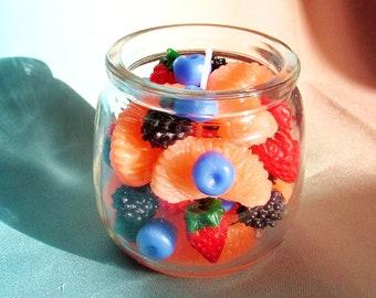 Fruit Salad Homemade Candle