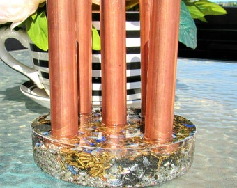 Super Powerful Orgonite® Cloudbuster-EMF Buster- Tower Buster//Add Stones of your choosing