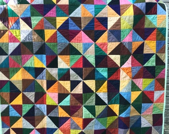 Kaleidoscope Triangles Quilt