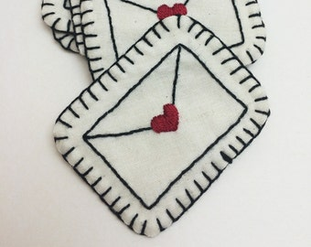 Love Letter Patch or Pin