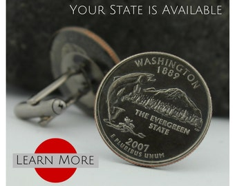 Massachusetts Tie Tacks A unique handmade tie tack using the Massachusetts State Quarter A perfect tie tack lapel or brooch pin.