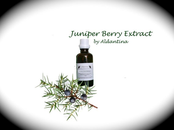 Organic Juniper Berry Herbal Tincture/Extract - alcohol free - >50ml<
