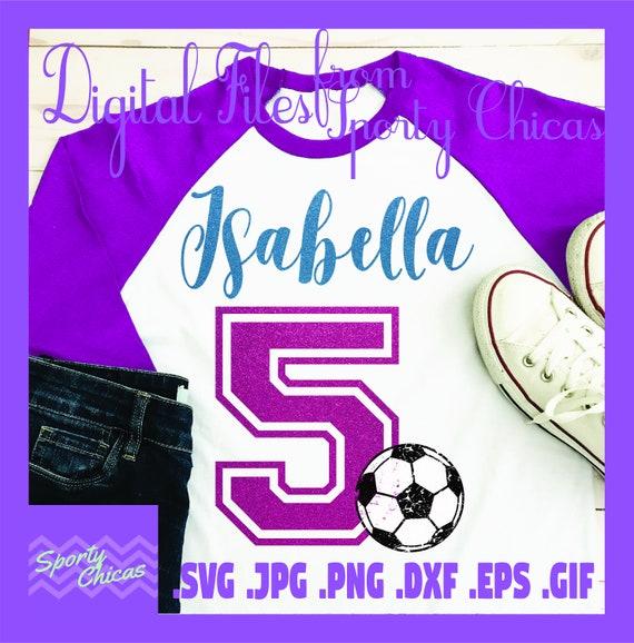 5 Geburtstag Svg Funften Geburtstag Svg Fussball Svg Etsy