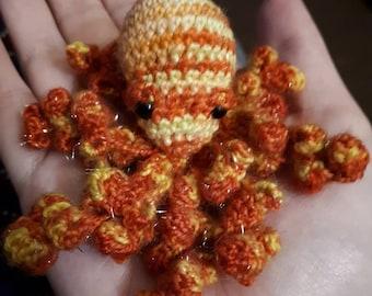 Minature Octopus crochet pattern