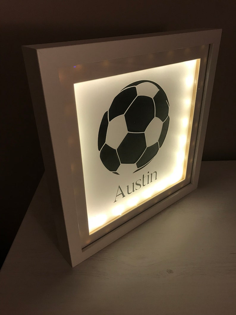 a8a8d922baab Light Frame Football Gift Light Up Picture Picture Frame