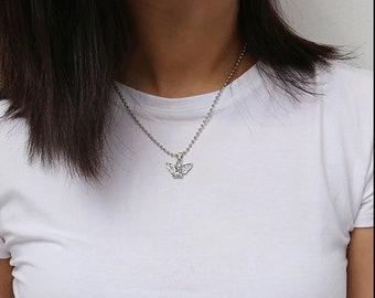 Silver/Gold Plated Cherub Angel Pendant