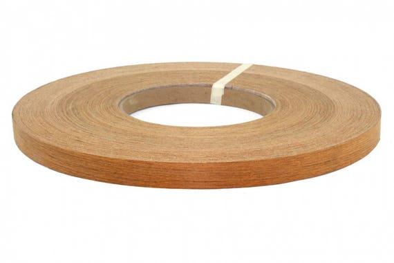 """Teak pre glued 13//16/""""x250/' wood Veneer edge banding"""