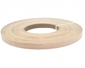 """White oak pre glued  ( 3/4"""" to 3""""x25' ) Wood Veneer edge banding"""