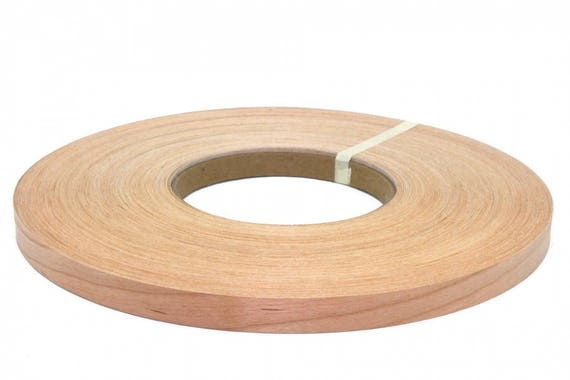 "Birch Non Glued 3//4/""x100/' wood veneer edge banding"