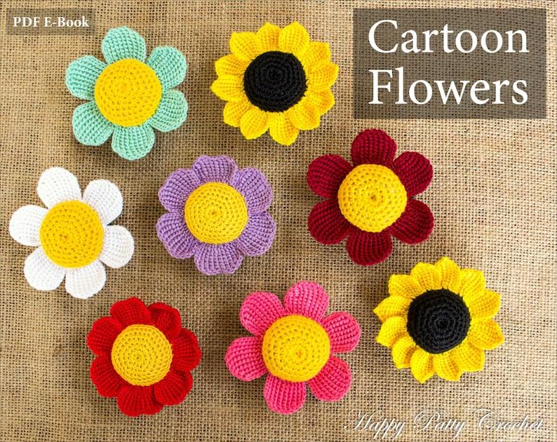SIMPLY SWEET CROCHET-Flowers//Headbands//Hats Needlecraft Patterns Craft Book